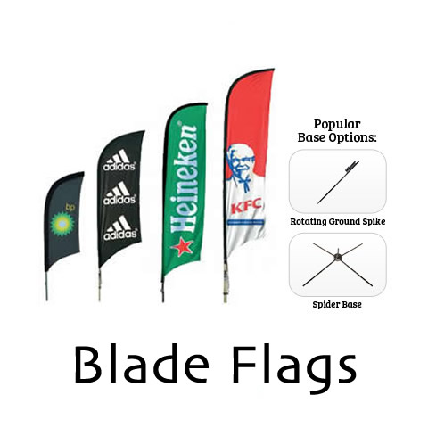 Custom Blade Flags